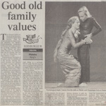 dominique frot - the times - good old family values